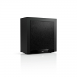 "KEF T2 250 watt 10"" Powered Slim Subwoofer only 7in deep Black"