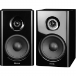 "DENON SCN7 2-Way 4.75"" in Speakers Pair Black NEW"