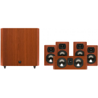 BOSTON ACOUSTICS CS2310B 5.1 Speaker Package w/ 10' 100 Watt Subwoofer Cherry