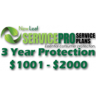 NEW LEAF Service Pro 3 Year Total Protection Plan ($1001 to $2000)