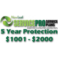 NEW LEAF Service Pro 5 Year Total Protection Plan ($1001 to $2000)