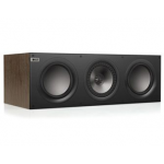 KEF Q600C 6.5in. 3-way Walnut Center Channel Speaker
