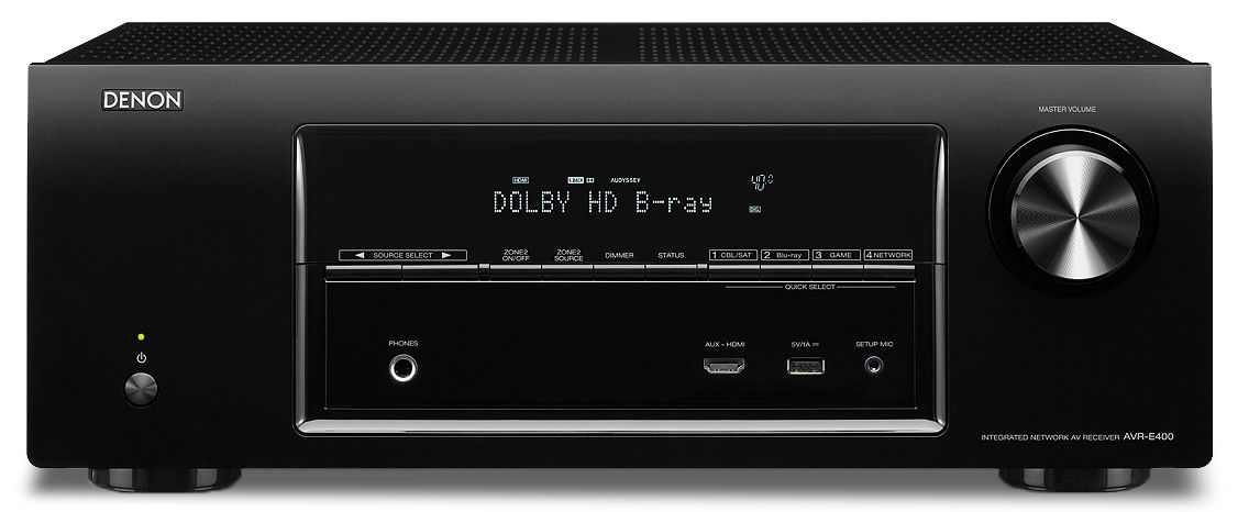 DENON AVR-E400 7.1 4K & 3D Networking Receiver Airplay