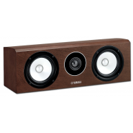 YAMAHA NS-C700 2-Way Center Channel Speaker Brown