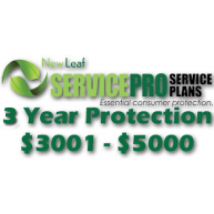 NEW LEAF Service Pro 3 Year Total Protection Plan ($3001 to $5000)