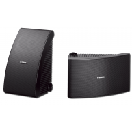 "YAMAHA NS-AW392 5.25"" 2-Way Outdoor Speaker Black Pair"
