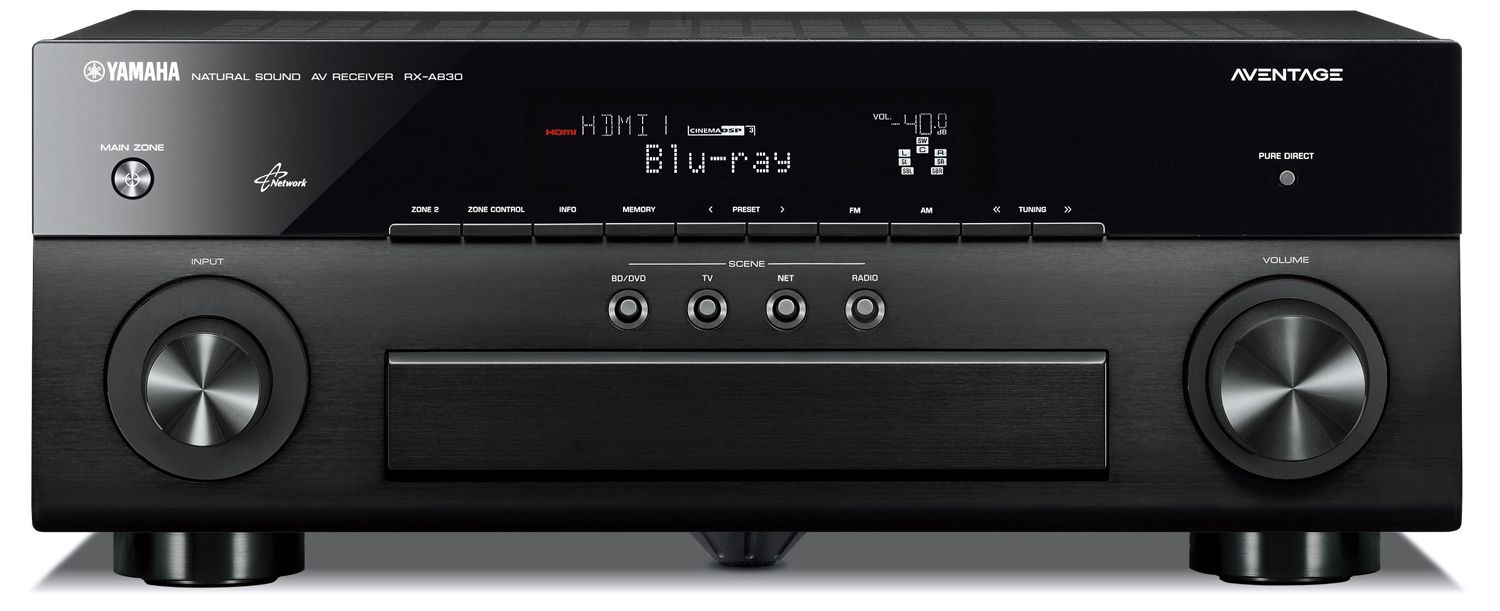 yamaha rx a830 7 2 network aventage av receiver airplay. Black Bedroom Furniture Sets. Home Design Ideas
