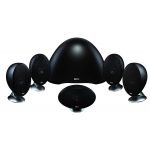 KEF E305 5.1-Channel Speaker System - Black/Satin