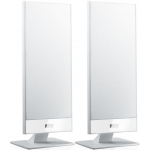 KEF T101 2-Way On-Wall Home Theater Satellite Speaker White Pair