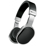 KEF M500 Hi-Fi On-Ear Headphones - Aluminum/Black