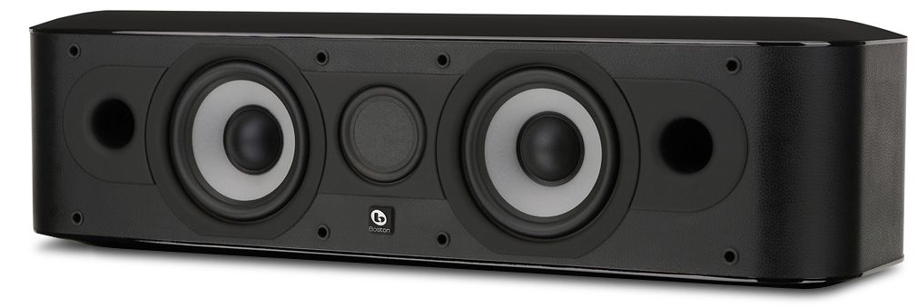 BOSTON ACOUSTICS MCenter 2-way Center Channel Speaker Black
