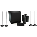 KEF KHT1505 Compact 5.1 system w/2 pairs of stands included