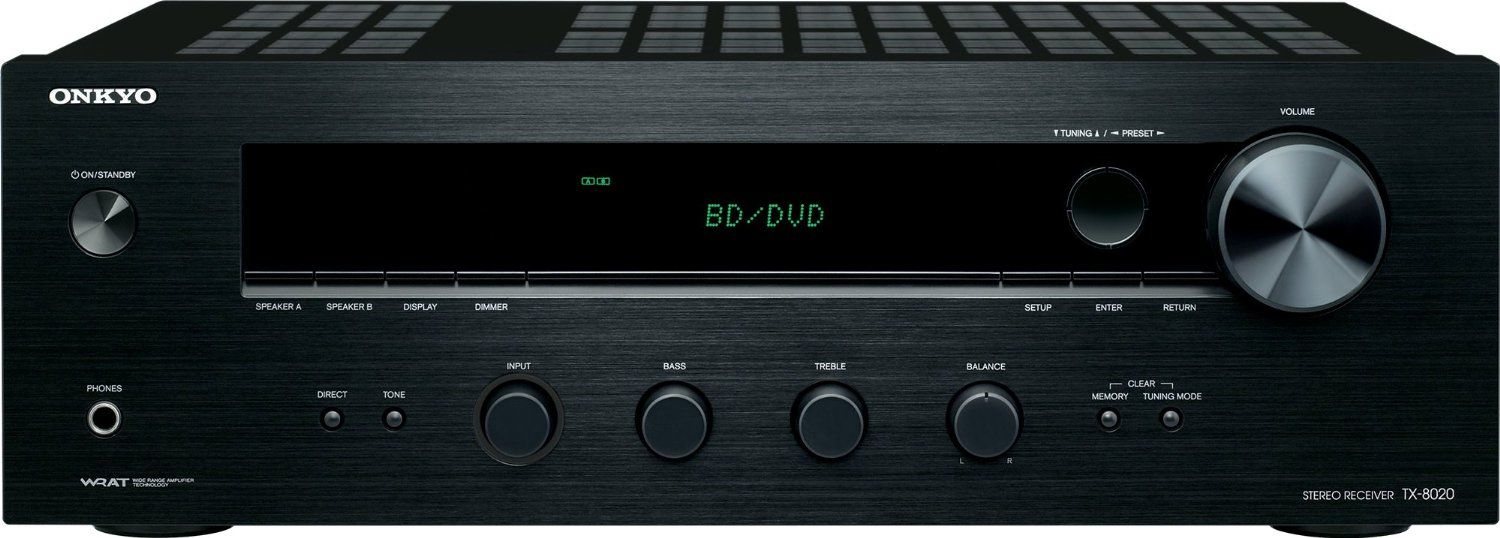 Onkyo Tx 8020 2 X 50 Watts Stereo Receiver Accessories4less
