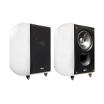 "KEF Xq10 5¼"" 2-way Bookshelf Loudspeakers High Gloss White Pair"