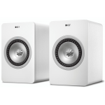 KEF X300AW Digital Wireless Hi-Fi Speaker System Pair White