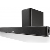 DENON DHT-S514 Powered Sound Bar w/Wireless Subwoofer and Bluetooth NEW