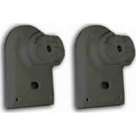 WHARFEDALE Wall Mounting Brackets Black Pair