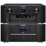 MARANTZ MM8077 Amplifier & AV8801 Processor