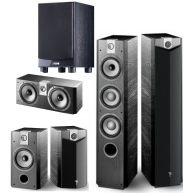 FOCAL Chorus 5.1 Speaker Bundle with CANTON Subwoofer