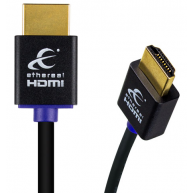 ETHEREAL Slim High Speed 4K 18 Gbps HDMI Cable w Ethernet DPL Lab Certified 6.4ft