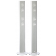 CANTON CD-290.2 4in Floor Standing German Made Speaker Pair Gloss White