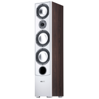 CANTON GLE490.2 3-way 8in Floor Standing German Made Speaker Each Mocca