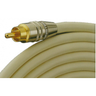 MONSTER CABLE Interlink 201 Subwoofer Cable w/T-Adapter 26ft