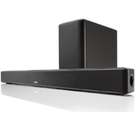 DENON DHT-S514 Powered Sound Bar w/Wireless Subwoofer and Bluetooth®