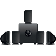 FOCALSib & Cub3 Home Theater Speaker System Black