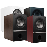 KEF Q300 Q Series 6-1/2 inch Bookshelf Speakers, pair
