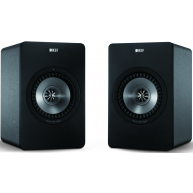 KEFX300A Digital Hi-Fi Speaker System Pair Gunmetal