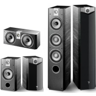 FOCAL Chorus 700 Series 5 Pc Package Black