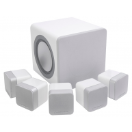 CAMBRIDGE AUDIO Minx S215 5.1 Speaker pack White w/2pr wall mounts