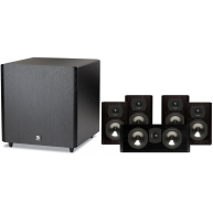 BOSTON ACOUSTICS Classic II 2300 5.1 Speaker Package Black