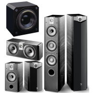 FOCAL Chorus 700 Series 5 Pc Package & Sunfire HRS12 1000 Watt Subwoofer