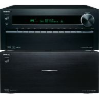 ONKYO PA-MC5501 9-Channel Power Amplifier & PR-SC5509 Network Preamplifier