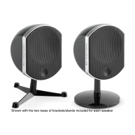 FOCAL Bird Compact Satellite Speakers Black Pair