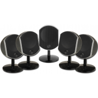 FOCAL Bird 5 Piece Home Theater Speaker Package Black