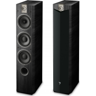 "FOCAL Chorus 727v2 726 6.5"" 3-Way Floorstanding Speaker Black Ash Pair"