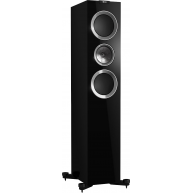 "KEF R700 6.5"" 3-Way Floorstanding Speaker Gloss Black Each"