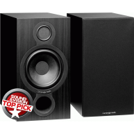 "CAMBRIDGE AUDIO Aero 2 6.5"" 2-Way Bookshelf Speakers Black Pair"