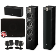 FOCAL Complete Home Theater Speaker Package w/ Boston Acoustics Subwoofer
