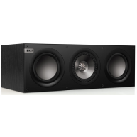 "KEF Q600C 6.5"" 3-Way Center Channel Speaker Black"