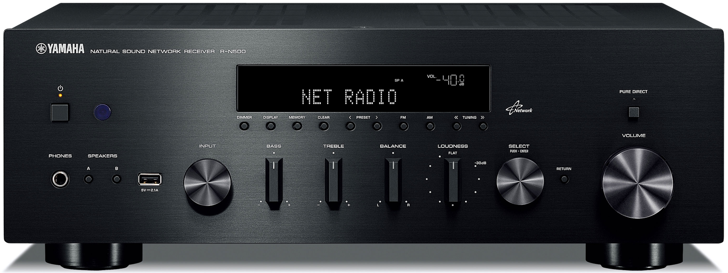 Yamaha R N500 2 Ch X 80 Watts Networking Stereo Receiver