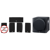 YAMAHA 5.1 Piece Home Theater Package w/10