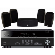 YAMAHA HTR-3067 AV Receiver & NS-AP1405 Speaker Package