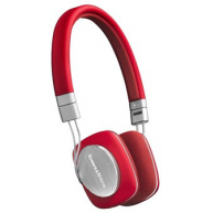 BOWERS & WILKINS P3 Portable Folding On-ear Headphones Red
