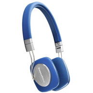 BOWERS & WILKINS P3 Portable Folding On-ear Headphones Blue