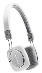 BOWERS & WILKINS P3 Portable Folding On-ear Headphones White
