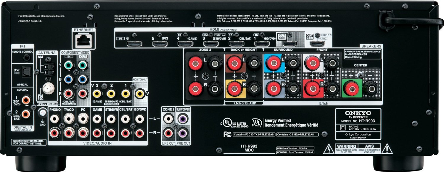Conncecting Yamaha Rx V To Tv